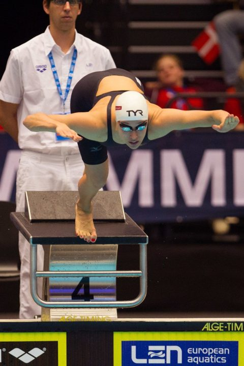 Rikke Moller Pedersen Takes A Run At Her Own World Record In The 200 Breaststroke