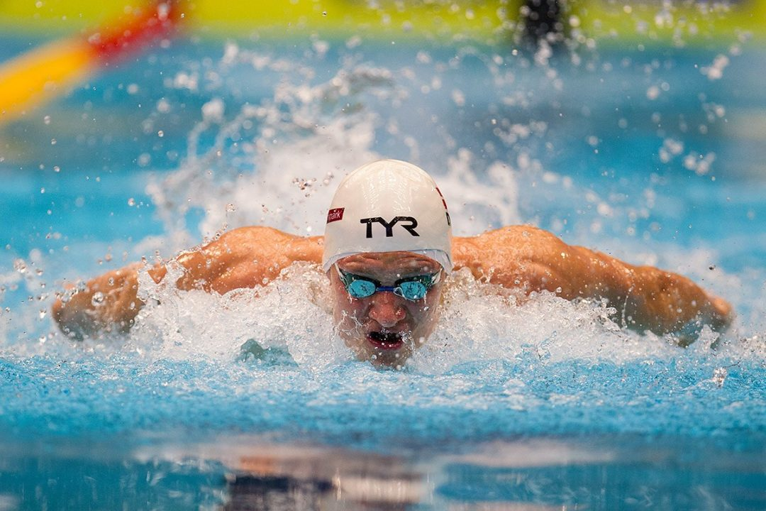 Bromer, Sjoedin Notch Respective NRs in 200 Fly at European SC Champs