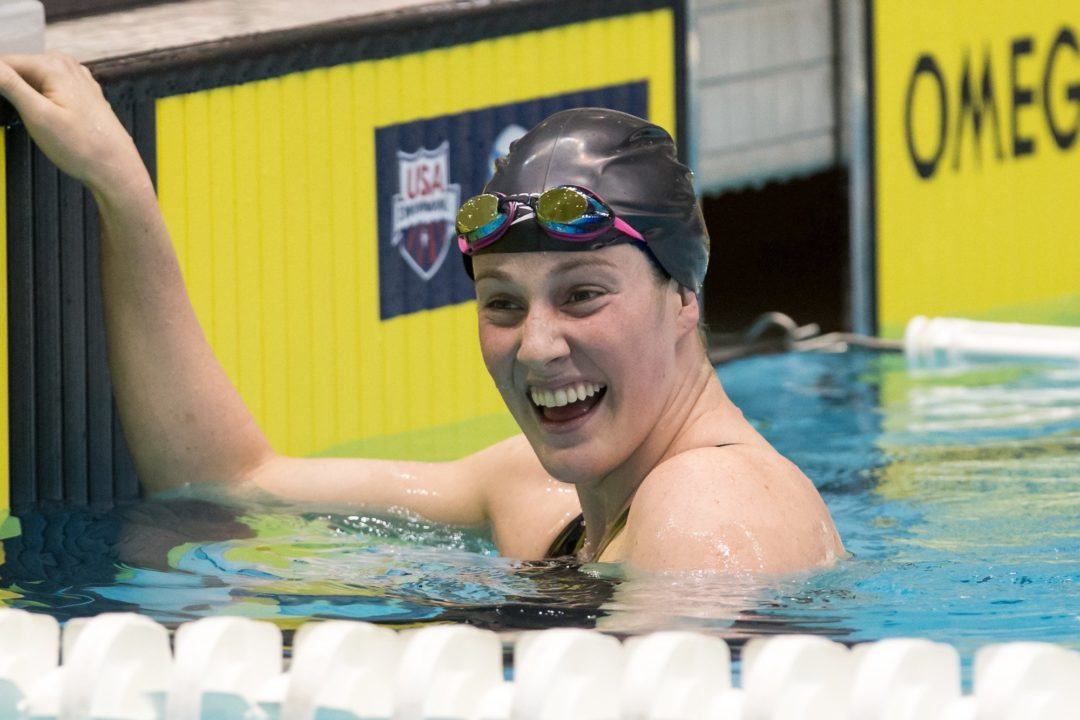 Winter Nationals: Multiple American records for Thoman on day 2, Franklin beats Ledecky in 200