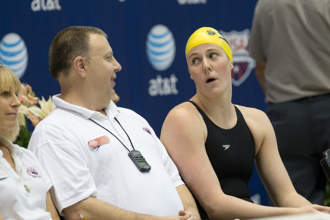 Missy Franklin Named Pac-12 Swimmer of the Month for December