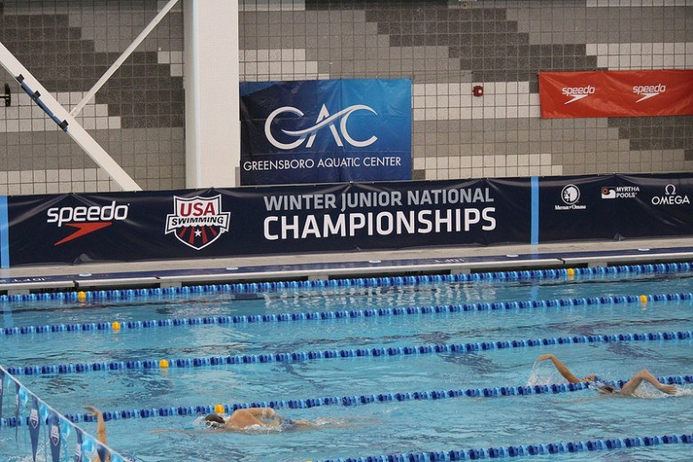 Carmel Swim Club Girls Re-Break National Age Group Record in Finals