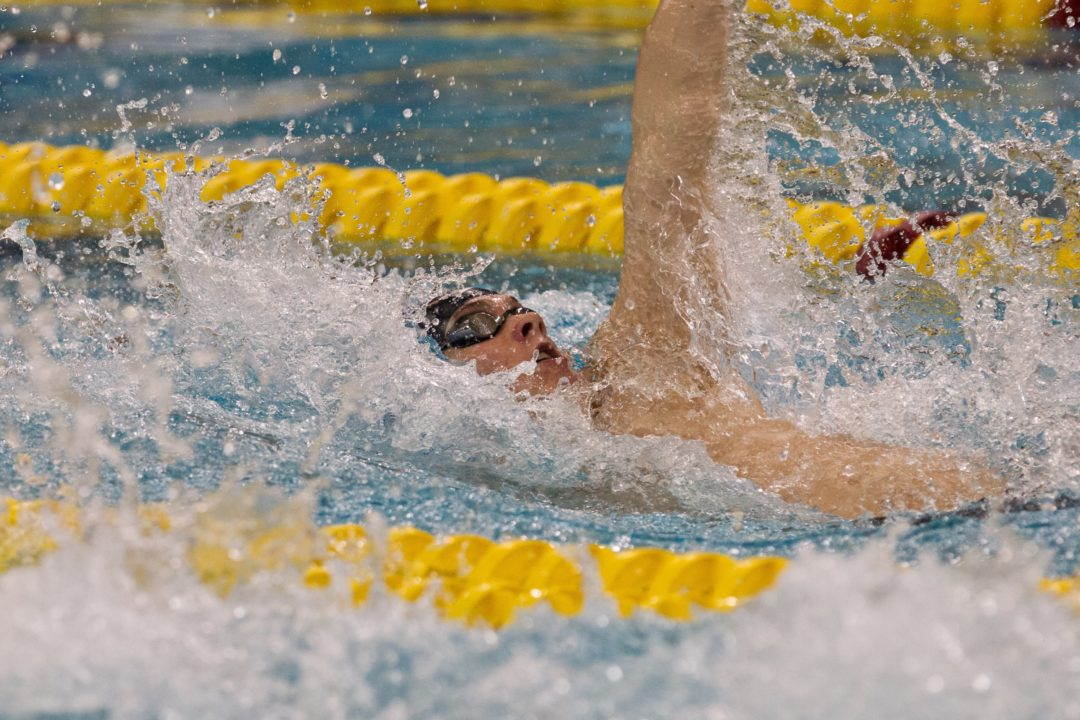 Penn State All-American Sean Grier Walks Away From Swimming