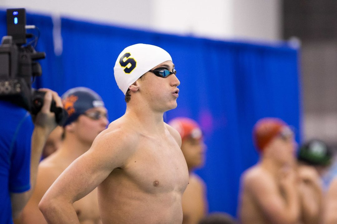 Ryan Hoffer Takes Down Second Dressel 15-16 Age Group Record