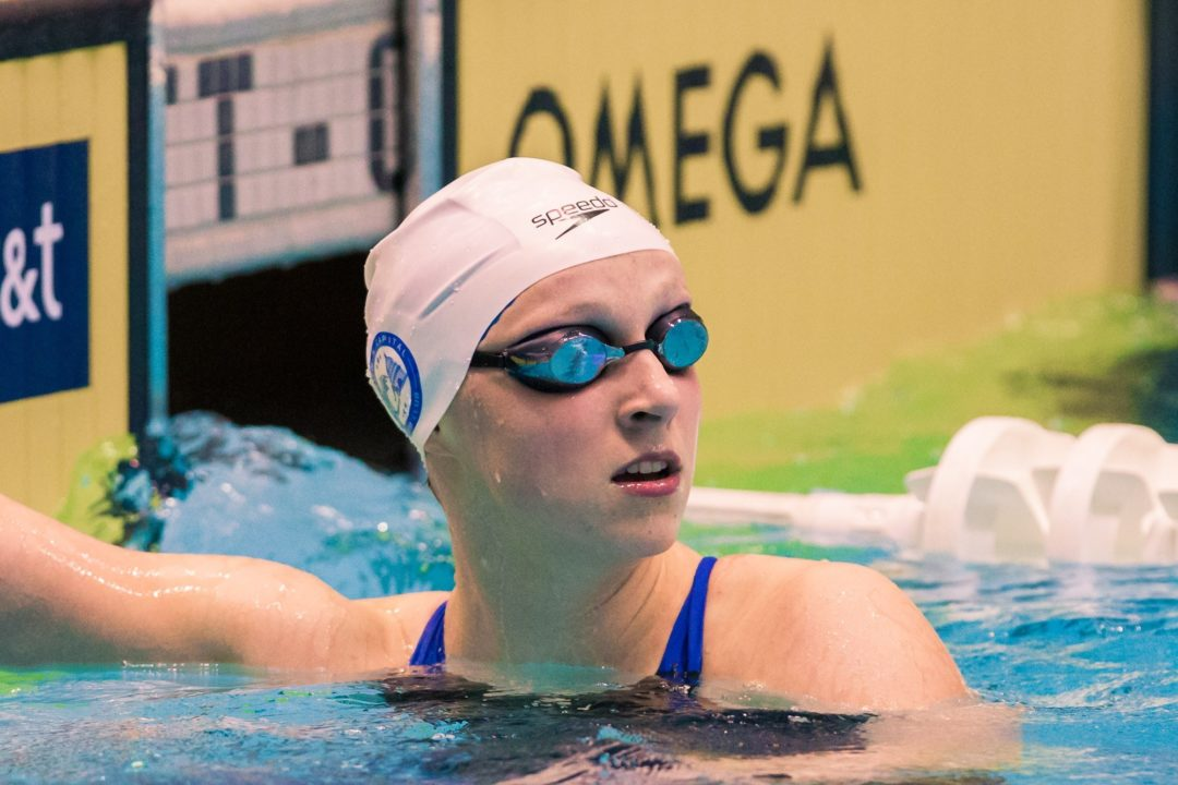 Winter Nationals wraps up with stellar American record for Ledecky, relay wins for Cal