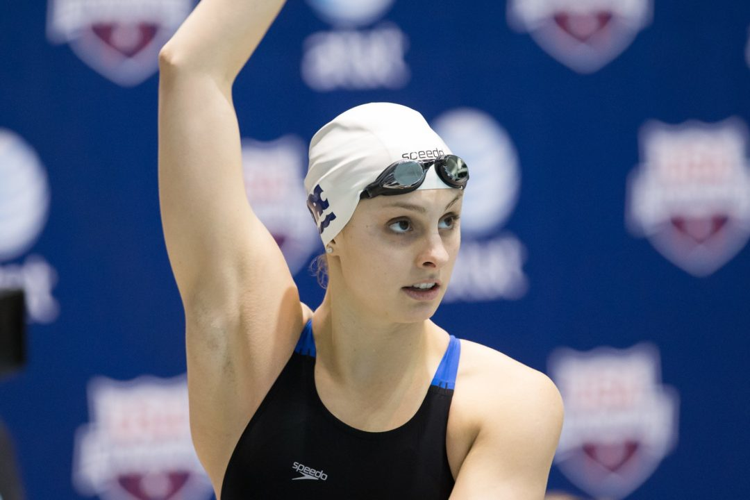 Olympic Medalist Katie Meili Signs with Speedo