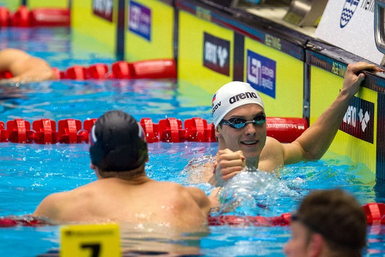 Morozov Pops 21.7 50 Free at Day 6 Prelims of Russian Trials