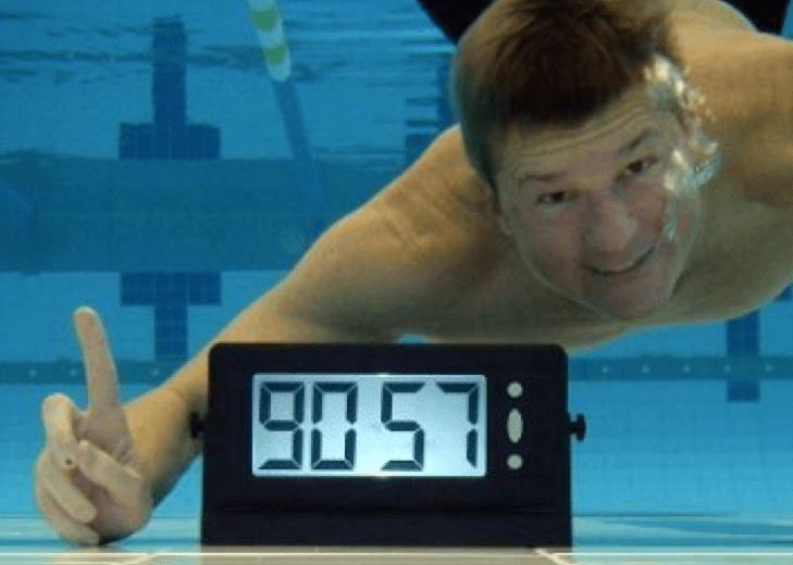 "Swim Gear: Pace Pal clocks are perfect for swimmers to use on ""test sets"""