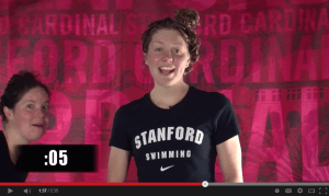 7 Seconds With Stanford's Women's Swimmers