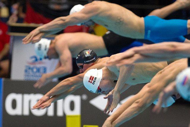 LEN European Short Course Swimming Championships 2013, Finals. 100m Medley Daniel Skaaning, DEN (courtesy of Jesper Nielsen | www.sttfoto.dk)