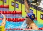 LEN European Short Course Swimming Championships 2013, Finals. Mireia Belmonte Garcia, ESP, Jubler efter at have vundet finale i 400m Medley (courtesy of Jesper Nielsen | www.sttfoto.dk)