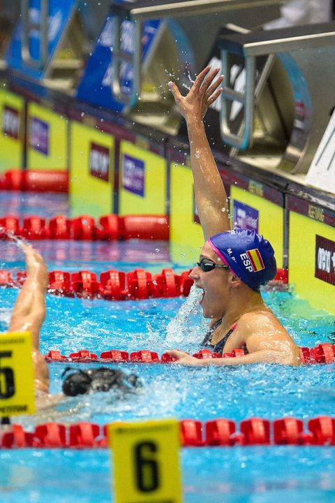 Belmonte On Fire; Ledecky 6th In 400 Freestyle; Europe 68 USA 54 after Day 1 of 2013 Duel in the Pool