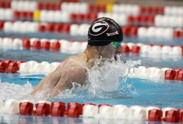 Matt Ellis, UGA Swimming (courtesy of Shanda Crowe, shandacrowe.weebly.com)