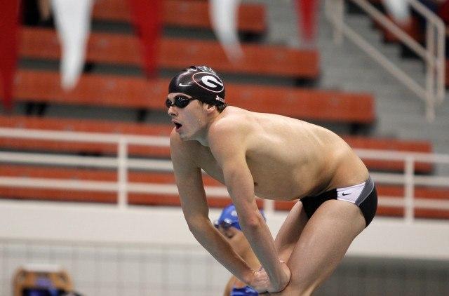 Nic Fink, UGA Swimming (courtesy of Shanda Crowe, shandacrowe.weebly.com)