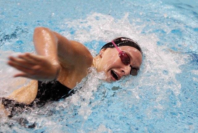 Melanie Margalis, UGA Swimming (courtesy of Shanda Crowe, shandacrowe.weebly.com)