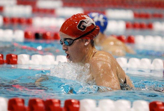 Emily Cameron, UGA Swimming (courtesy of Shanda Crowe, shandacrowe.weebly.com)