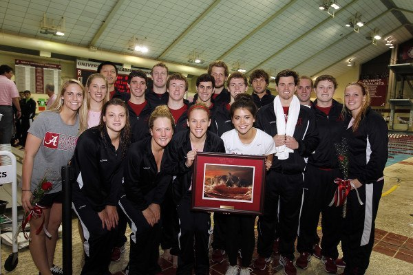 Alabama Tops Strong Division III Opponents Emory on Senior Day