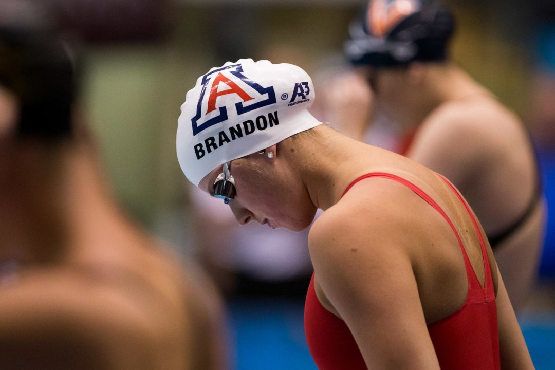Arizona Women Sweep Trio in Pac-12 Network 2014 Swimming Debut