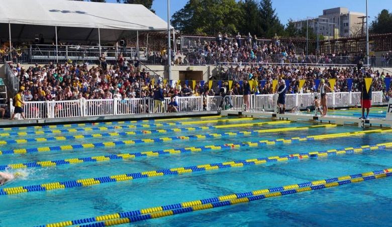 Rivalries, Television Bring Big Passion, Energy, and Record Attendance to College Swim Meets