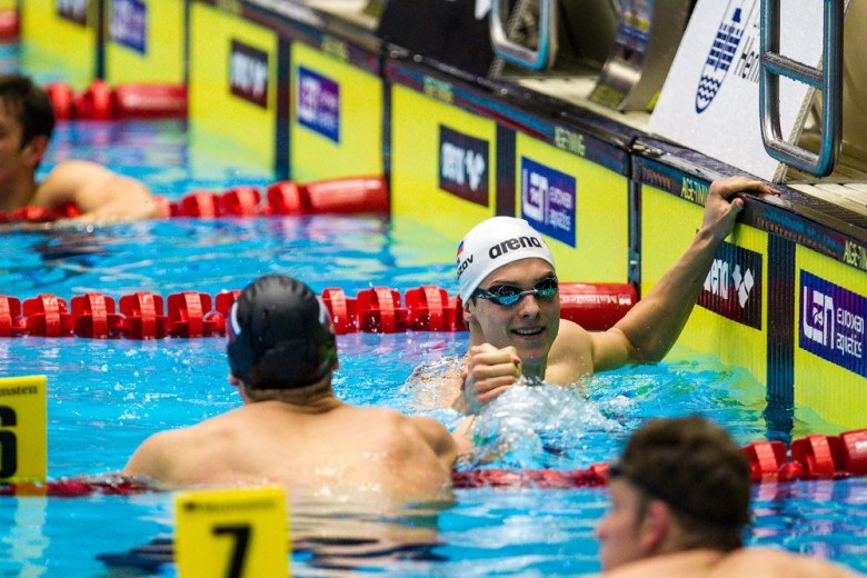 Morozov Posts World's Second Fastest Time in the 50 Freestyle on the Final Day of Russian Nationals