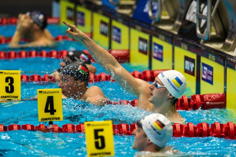 Andriy Govorov Posts Fastest Textile Time Ever In 50 Fly