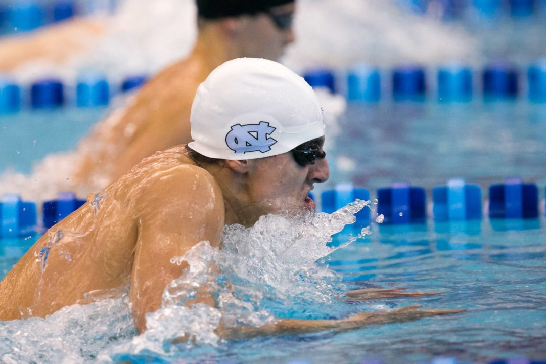 North Carolina Men, Women Beat NC State On Strength of Distance Swimmers