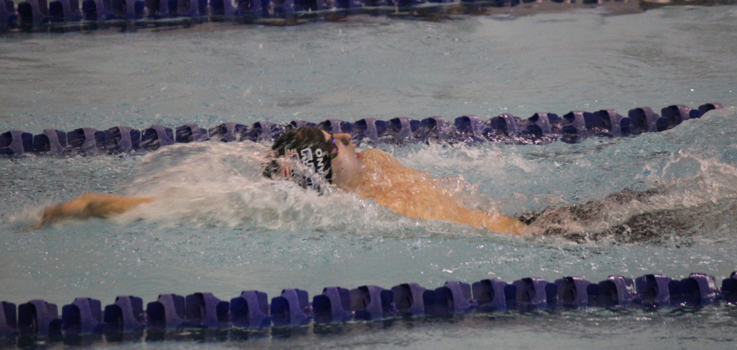 Vinny Marciano Breaks NAG Record in 100 Back for 2nd Time on Sunday