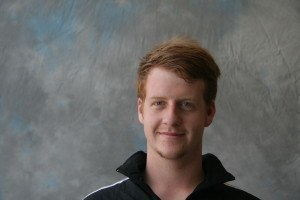 Mike Crinion, Albion College diver (courtesy of Albion  College)