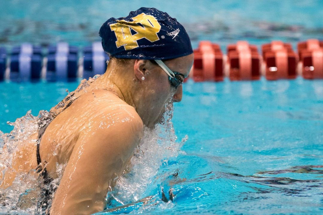 Reaney, McCrory Each Grab 4th ACC Swimmer of the Week Honors of 2013-2014 Season