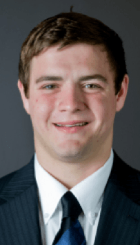 Devin Burnett, SMU Diver (courtesy of SMU)