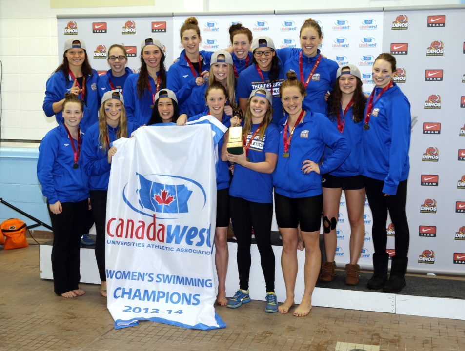 UBC Women Set Canada West Records For Most Points With 1071