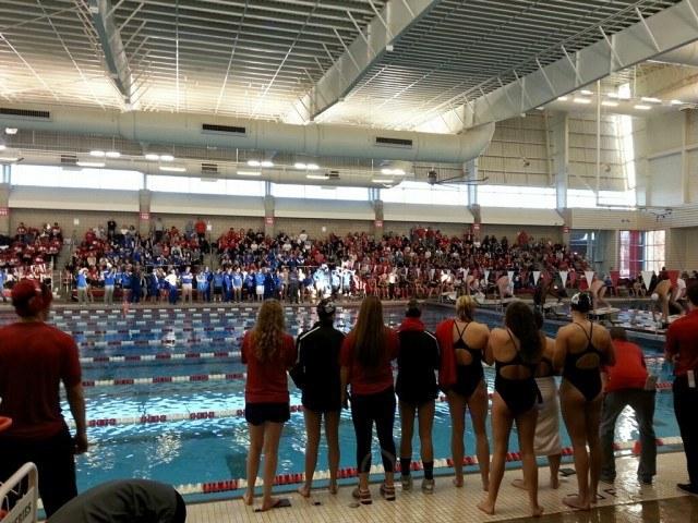 Louisville-Kentucky meet capacity crowd, Courtesy: Gisselle Kohoyda