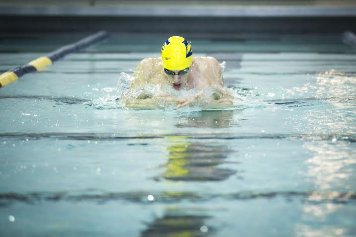 Andrew Wilson of Emory Breaks D3 100 Breast Record
