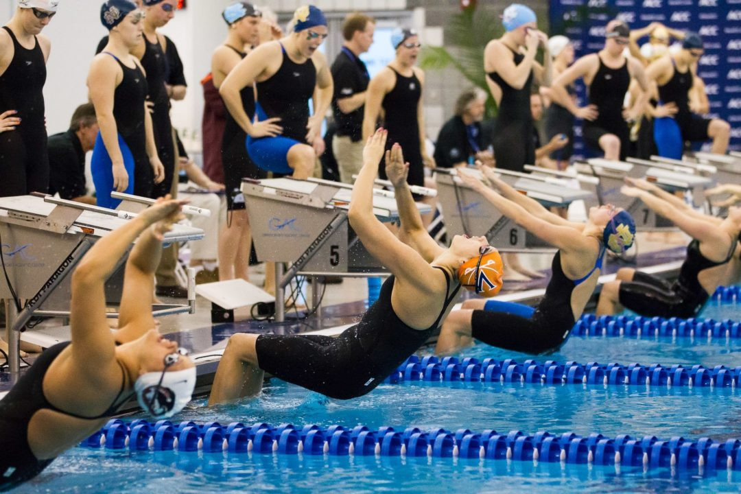 2015 W. NCAA Picks: Bartholomew and junior crew chasing Coughlin's 49.97 in 100 back