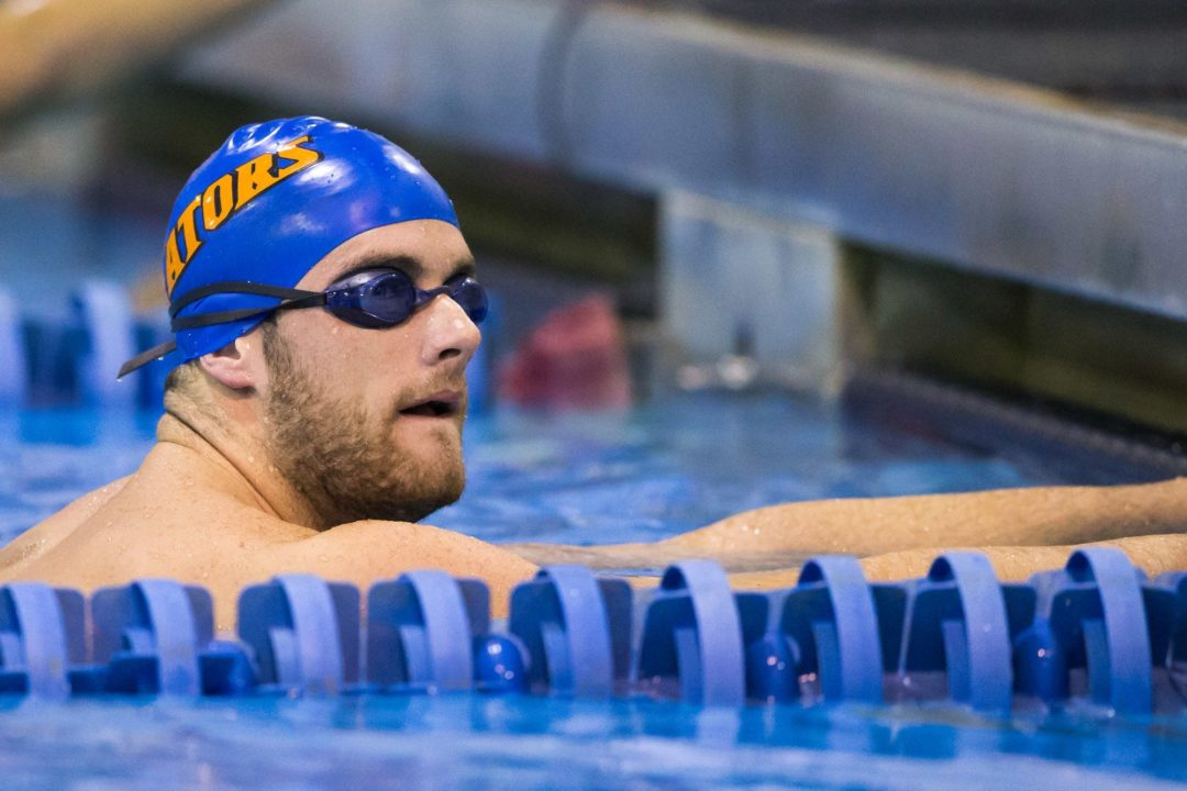 Larson Again Closing in on NCAA Record at SEC's Day 5; 200 Breaststroke Now On Notice