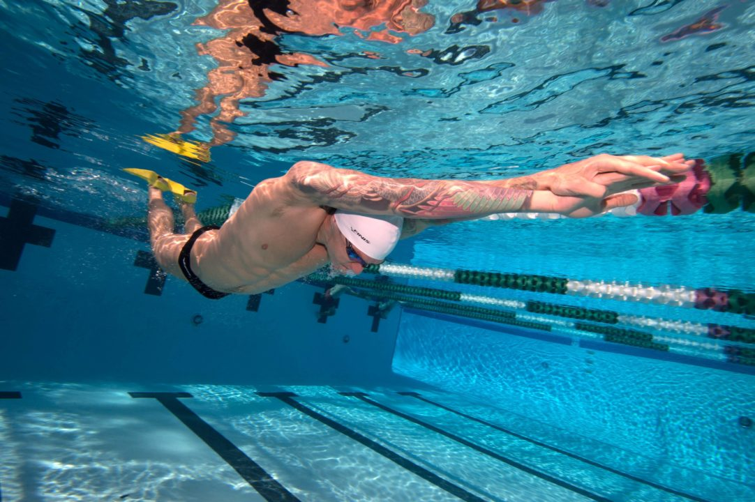 FINIS Photo Vault featuring Anthony Ervin and Jason Dunford