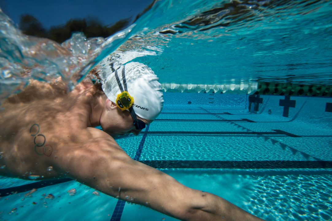 Mix up swim practice with the Tempo Trainer Pro and Foil Monofin