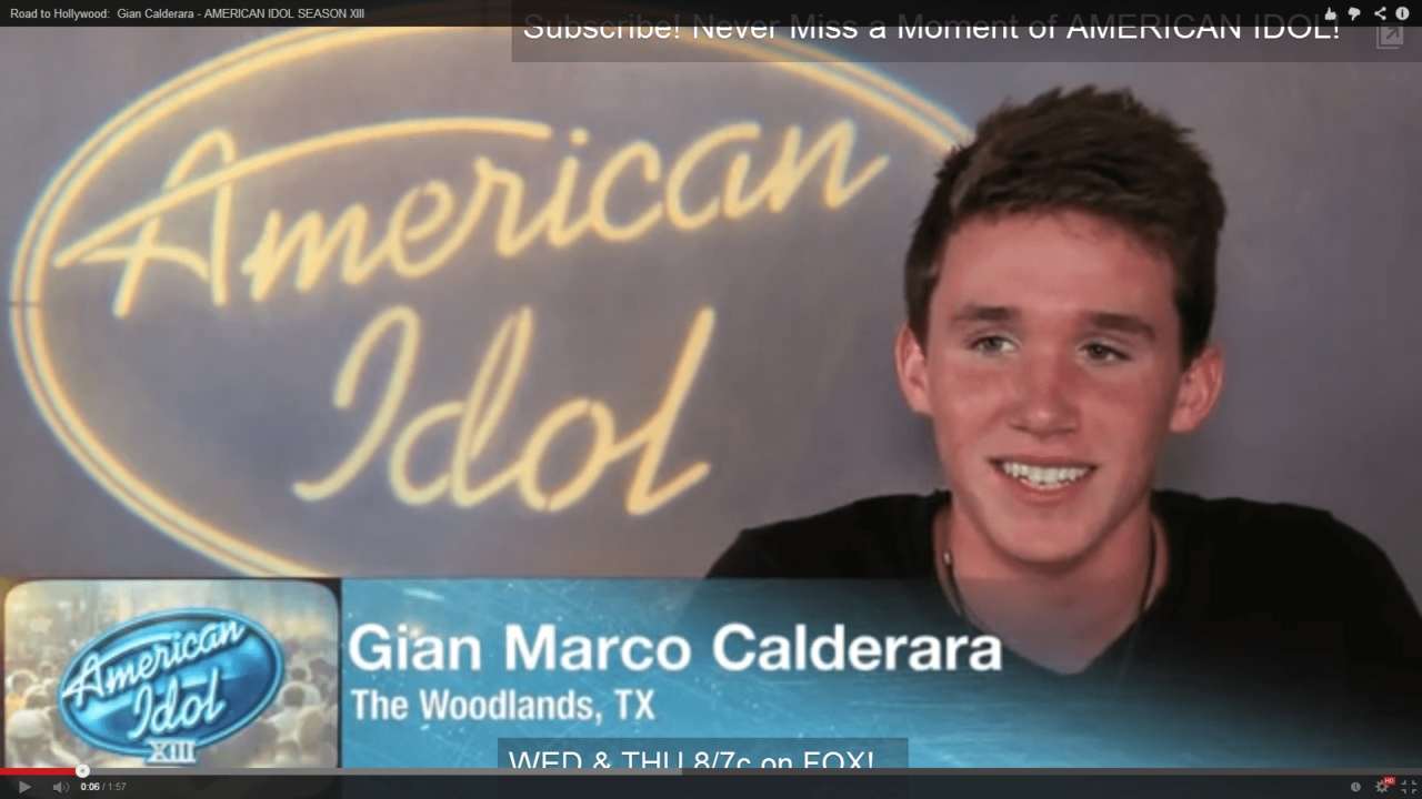 "Swimmer From the Woodlands Swim Team Receives ""Golden Ticket"" On American Idol"