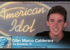 Gian Marco Calderara Woodlands American Idol Screen Shot