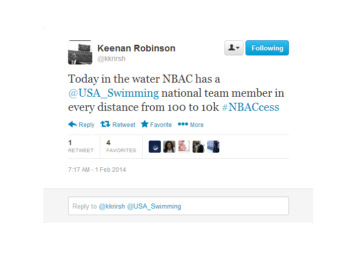 A Rehash of Bob Bowman's Live Tweets From NBAC's Saturday Morning Practice