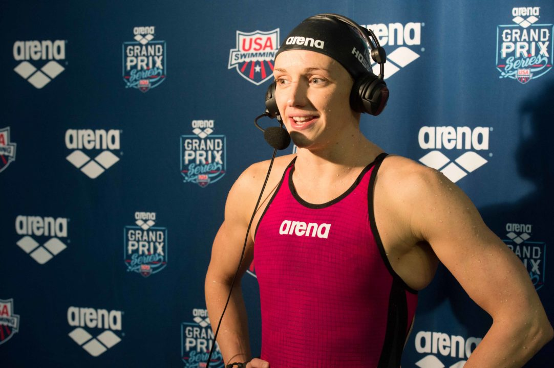 Race Video: Katinka Hosszu wins 400 IM at the Arena Grand Prix in Orlando