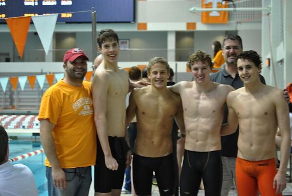 Tennesseee Aquatics Breaks 15-16 National Age Group Record in 800 Free Relay