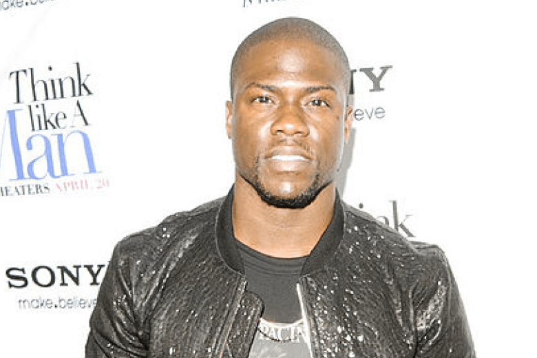 Comedian Kevin Hart Swims Butterfly Like an Olympian, Video is NSFW
