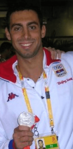 Milorad Cavic, 2008 Olympic medalist (via wikipedia)