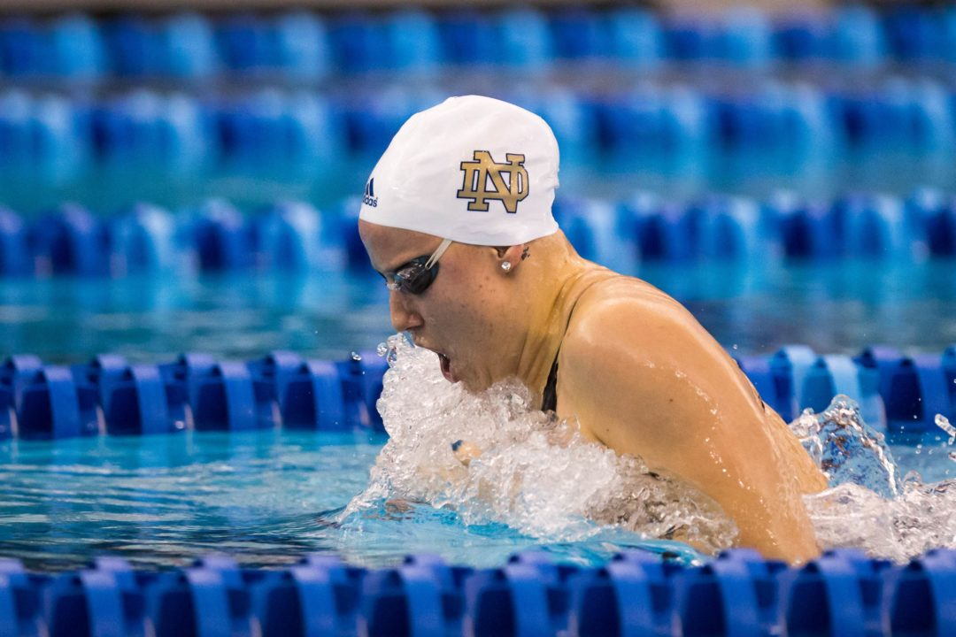 2015 W. NCAA Picks: Reaney looks to repeat in 200 breast, but tough field has caught up