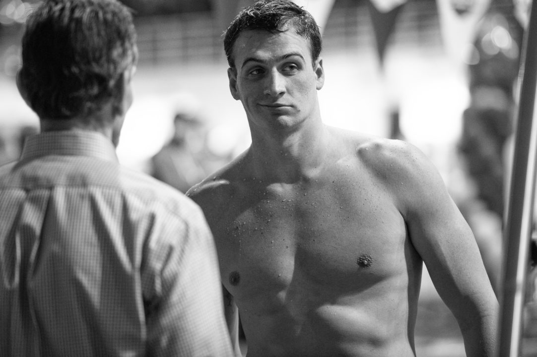 Ryan Lochte Reveals to Reporters in NYC that he Re-tore his MCL