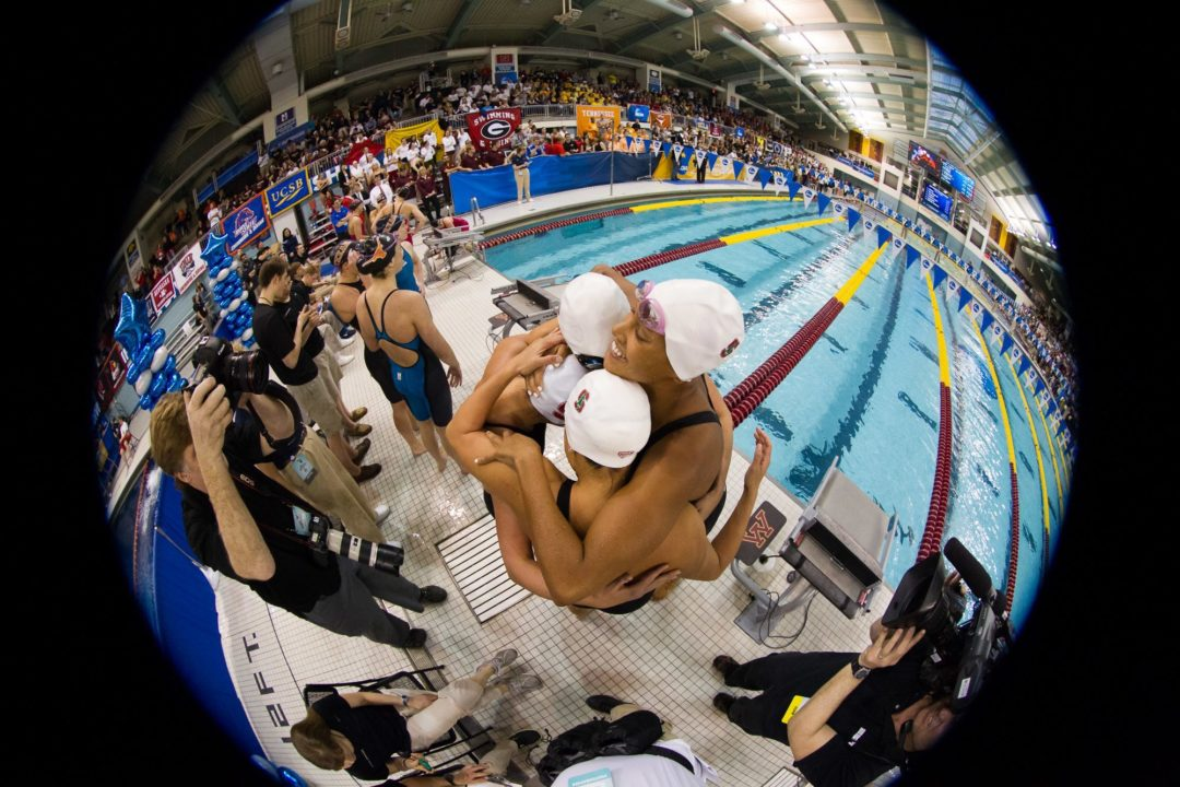 5 Big Things from 2014 W. NCAA's #3: Playing it safe (perhaps too safe) on relay exchanges