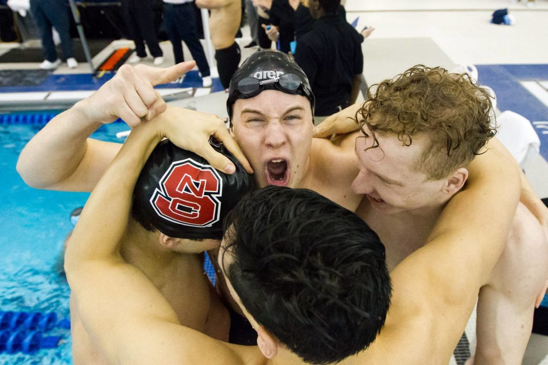 MEET NOTES: Pack Swim and Dive Takes On UVA in 2nd dual meet of the year