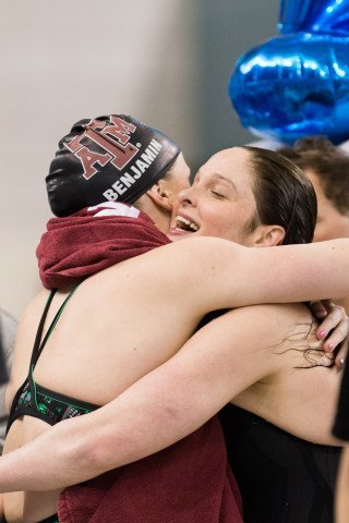 Cammile Adams, 200 Fly winnner, 2014 Women's NCCA DI Championships (courtesy of Tim Binning, theswimpictures)