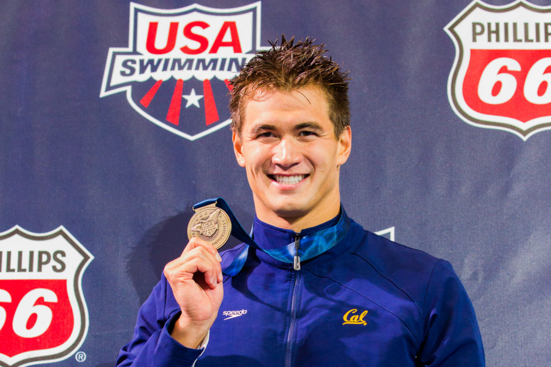 Nathan Adrian to Be Inducted Into Robert Chinn Foundation 'Asian Hall of Fame'
