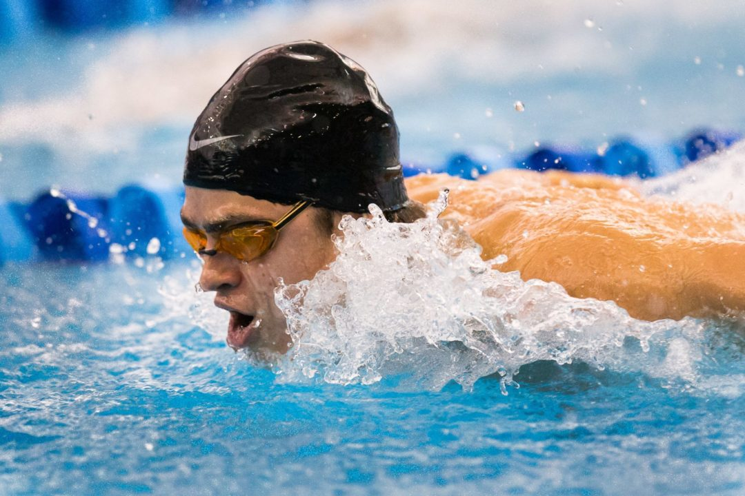 2014 U.S. Winter Junior Nationals Day Three Prelims- Sean Grieshop Comes Within A Few Seconds Of Michael Phelps' Age Group Record